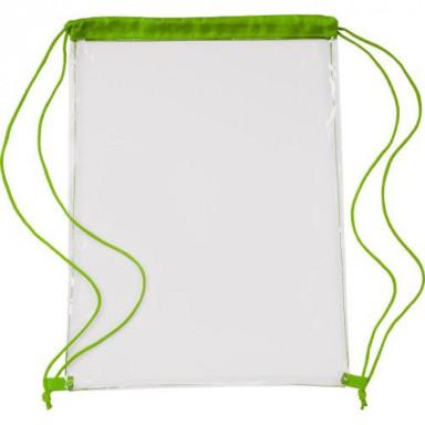 Прозрачный рюкзак из полиэстера