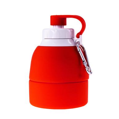 Складная силиконовая бутылка для воды TEMPO