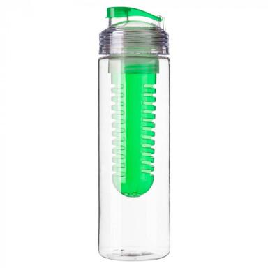 Бутылка для питья из тритана с контейнером  для фруктов