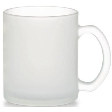 Чашка стеклянная матовая Fresia Dual 340 мл