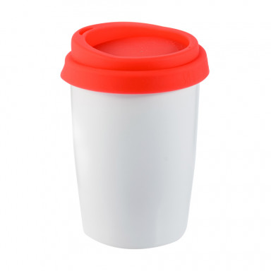 Керамическая чашка с двойной стенкой на 280 мл