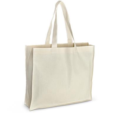 Эко-сумка из хлопка (42x10х35 см.), 210г/м2. Eco-sumka