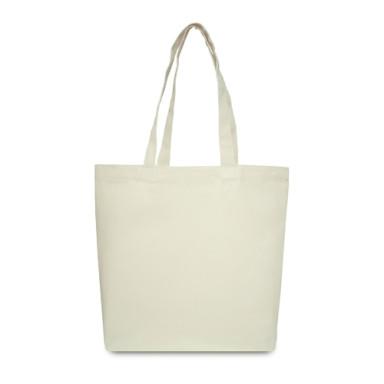 Эко-сумка из хлопка (42x12х35 см.), 240г/м2