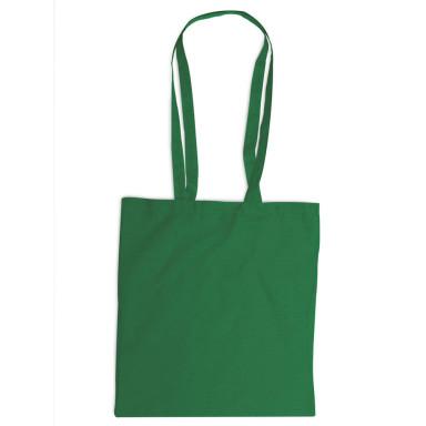 Эко сумка для покупок с длинными ручками