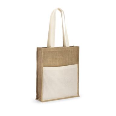 Сумка для покупок из джутовой ткани