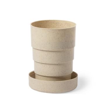 Бамбуковая дорожная складная эко чашка