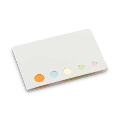 Закладки (стикеры) бумажные 5 цветов в наборе