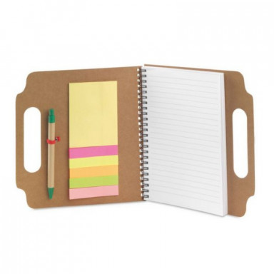 Блокнот на 70 листов со стикерами и ручкой