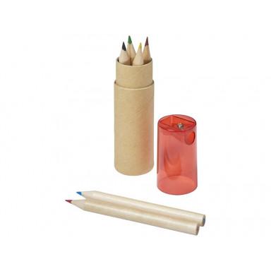 Набор из 6 карандашей в тубусе