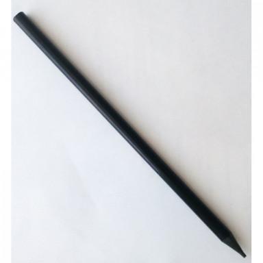 Заточенный черный карандаш под логотип
