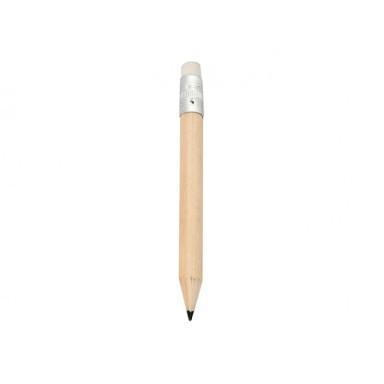 Мини карандаш деревянный под логотип