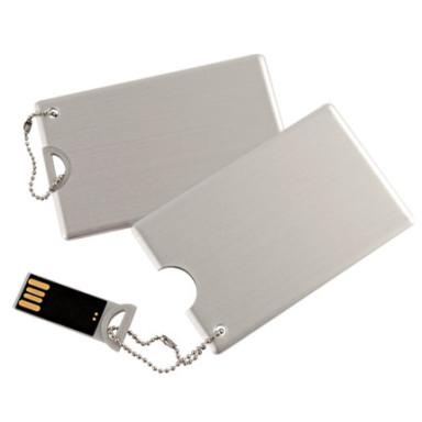 Флешка-визитка из металла