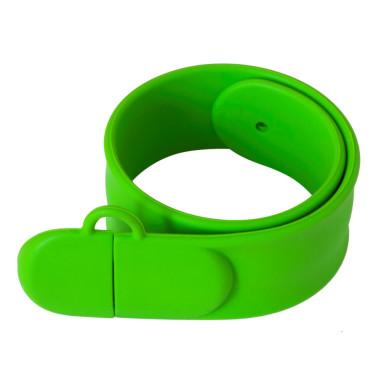 Силиконовая USB флешка-браслет