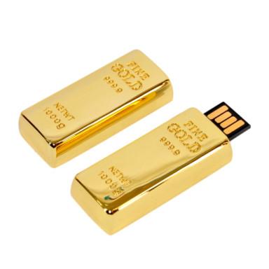 USB флешка Золотой слиток