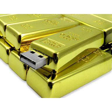 USB флешка Золотой слиток 2