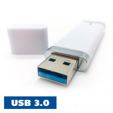 Пластиковая промо флешка с USB 3.0