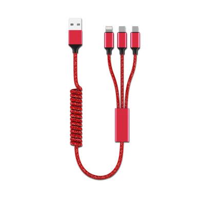Универсальный кабель 3-в-1 для зарядки гаджетов