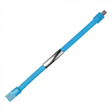 Силиконовый usb-браслет с металлической пластиной для гравировки