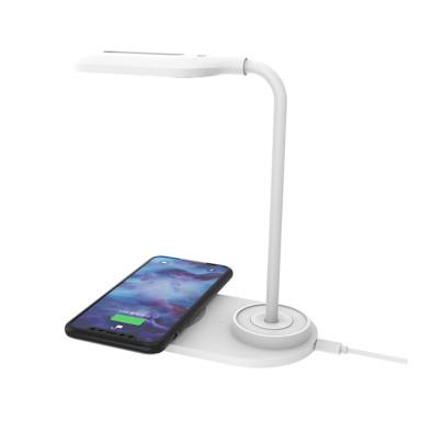 Лампа с беспроводной зарядкой Bright