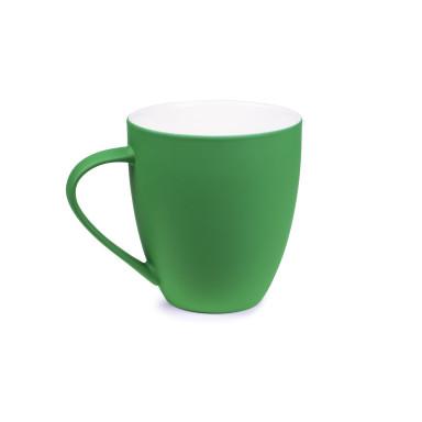 Чашка керамическая Velvet с софт тач покрытием