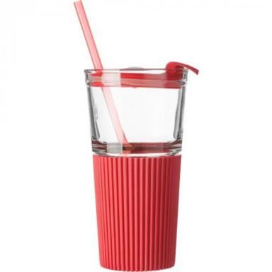 Стеклянная чашка для питья на 500 мл
