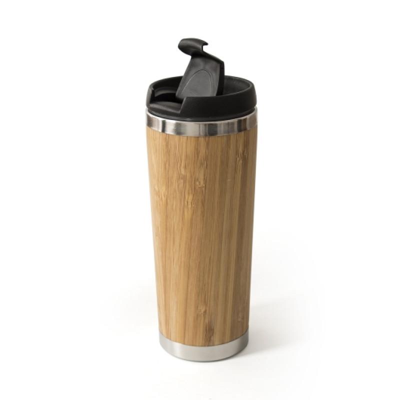 Термокружка бамбуковая Momentum