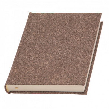 Недатированный ежедневник Oxido, кремовый блок, А5 формат