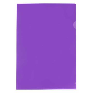 Пластиковая папка-уголок А4 формата