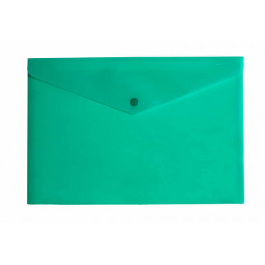 Папка конверт на кнопке А4 формата