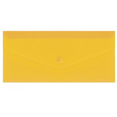 Пластиковая папка-евроконверт Е65 на кнопке