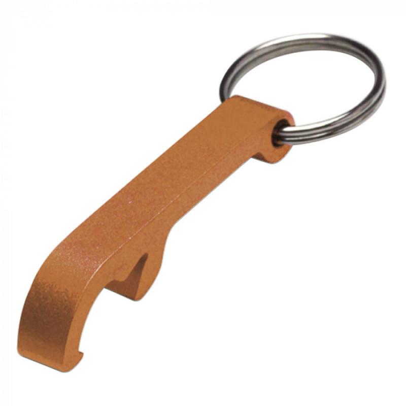 Брелок-открывалка металлический Opener