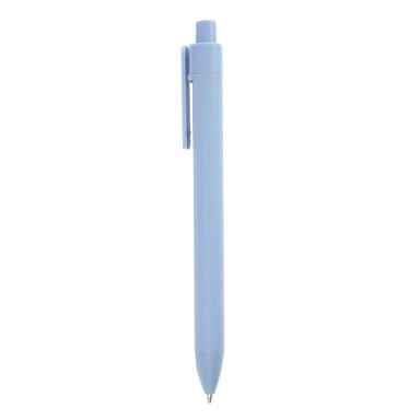 Уникальная пластиковая ручка с текстильной вставкой из меланжевой ткани Textile Pen