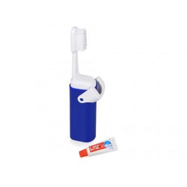 Складная зубная щетка с пастой