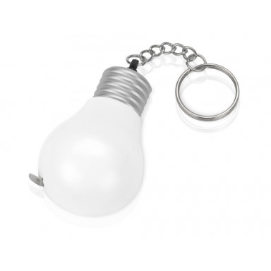 Брелок-рулетка для ключей Лампочка на 1метр