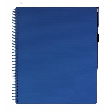 Блокнот с ручкой на резинке