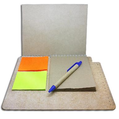 Эко - планшет для тренингов с блокнотом и стикерами Post-it