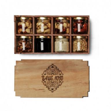 Набор подарочный с разными видами меда