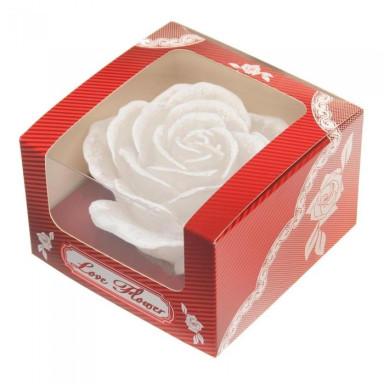 Ароматизированная свеча Роза