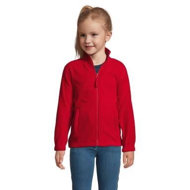 Детская куртка из флиса на молнии SOL'S NORTH KIDS