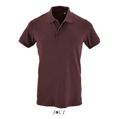 Мужская рубашка поло из х/б ткани с эластаном SOL'S PHOENIX MEN