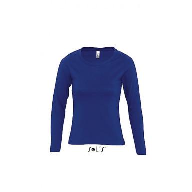 Женская футболка с длинным рукавом SOL'S MAJESTIC