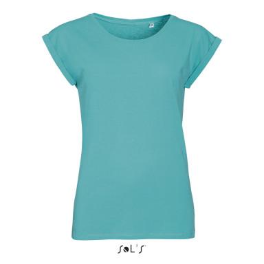 Женская футболка с круглым воротом SOL'S MELBA