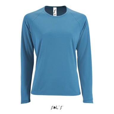 Женская спортивная футболка с длинным рукавом SPORTY LSL WOMEN