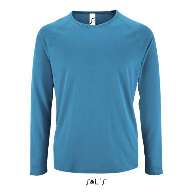 Мужская спортивная футболка с длинным рукавом SPORTY LSL MEN