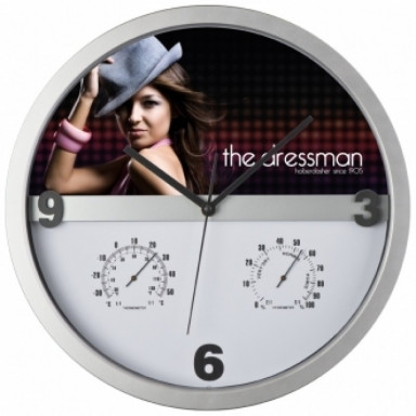Настенные часы со сменной половиной циферблата