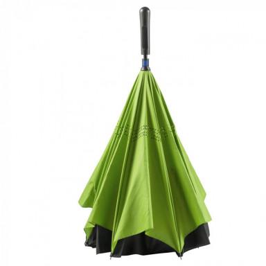 Ручной зонт-трость из шелка, 8-панельный