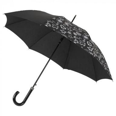 Зонт-трость 8-панельный