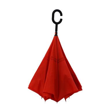 Зонт-трость механический LINE ART WONDER с обратным сложением