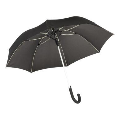 Зонт-трость CANCAN с металлическим стержнем и цветными спицами
