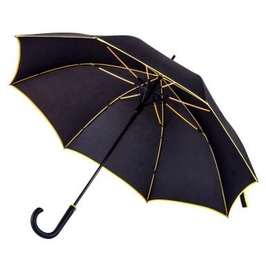 Стильный зонт с цветными спицами